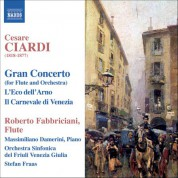 Roberto Fabbriciani: Ciardi: Music for Flute - CD