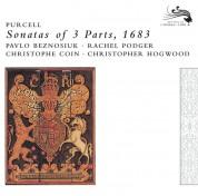 Christophe Coin, Christopher Hogwood, Pavlo Beznosiuk, Rachel Podger: Purcell: Sonatas Of 3 Parts, 1683 - CD
