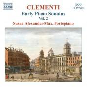 Susan Alexander-Max: Clementi, M.: Early Piano Sonatas, Vol. 2 - CD