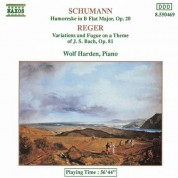 Schumann, R.: Humoreske, Op. 20 / Reger: Variations and Fugue On A Theme of J.S. Bach - CD