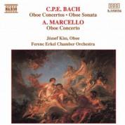 Jozsef Kiss: Bach, C.P.E. / Marcello, A.: Oboe Concertos - CD
