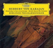 Berliner Philharmoniker, Herbert von Karajan: Stravinsky/ Bartók: Sacre/ Concerto - CD