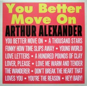 Arthur Alexander: You Better Move On - Plak