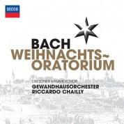Dresdner Kammerchor, Gewandhaus Orchestra, Riccardo Chailly: Bach, J.S.: Weihnachts-Oratorium - CD