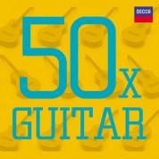Çeşitli Sanatçılar: 50x Guitar - CD