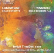 Torleif Thedéen: Cello Concertos - CD
