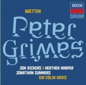Heather Harper, Jon Vickers, Jonathan Summers, Orchestra of the Royal Opera House, Covent Garden, Sir Colin Davis: Britten: Peter Grimes - CD