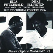Duke Ellington, Ella Fitzgerald: Stockholm Concert, 1966 - CD