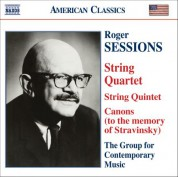 Sessions: String Quintet / String Quartet No. 1 / Canons (To the Memory of Igor Stravinsky) - CD