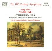 City of London Sinfonia, Andrew Watkinson: Vanhal: Symphonies, Vol.  2 - CD