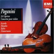 Frank Peter Zimmermann, Yehudi Menuhin, Franco Tamponi, Salvatore Accardo: Paganini: 24 Caprices, Concertos pour violin - CD