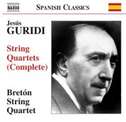 Breton String Quartet: Guridi: Complete String Quartets - CD