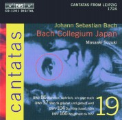 Bach Collegium Japan, Masaaki Suzuki: J.S. Bach: Cantatas, Vol. 19 (BWV 86, 37, 104, 166) - CD