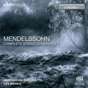 Nieuw Sinfonietta Amsterdam, Lev Markiz: Felix Mendelssohn-Bartholdy: The Complete String Symphonies - SACD
