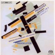 Freddy Kempf, Andrew Litton, Bergen Philharmonic Orchestra: Prokofiev: Piano Concertos Nos.2 & 3 - SACD