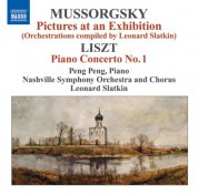 Leonard Slatkin: Mussorgsky, M.: Pictures at an Exhibition (Orchestrations Compiled by L. Slatkin) / Liszt, F.: Piano Concerto No. 1 - CD