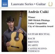 Andras Csaki: Guitar Recital: Csaki, Andras - CD