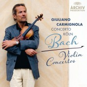 Concerto Köln, Giuliano Carmignola, Mayumi Hirasaki: Bach, J.S.: Violin Concertos - CD