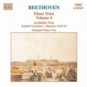 Beethoven: Archduke Trio / Kakadu Variations / Allegretto, Woo 39 - CD