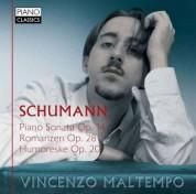 Vincenzo Maltempo: Schumann: Piano Sonata Op.14 - Romanzen Op.28 - Humoreske Op.20 - CD