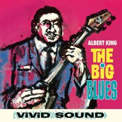 Albert King: The Big Blues + 2 Bonus Tracks! - Limited Edition in Solid Blue Colored Vinyl. - Plak