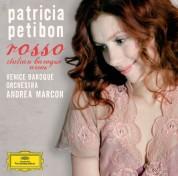 Patricia Petibon, Andrea Marcon, Venice Baroque Orchestra: Patricia Petibon - Rosso, Italian Baroque Arias - CD