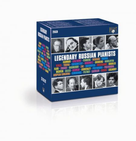 Legendary Russian Pianists - CD
