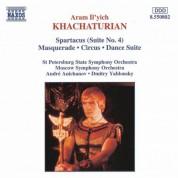 Khachaturian, A.I.: Spartacus, Suite No. 4 / Masquerade / Circus - CD