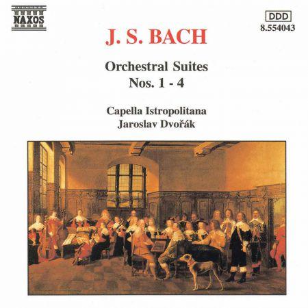 Bach, J.S.: Orchestral Suites Nos. 1-4, Bwv 1066-1069 - CD
