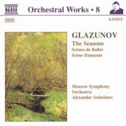 Alexander Anisimov: Glazunov, A.K.: Orchestral Works, Vol.  8 - The Seasons / Scenes De Ballet / Scene Dansante - CD