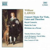 Lawes: Consort Music for Viols, Lutes and Theorbos - CD