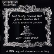 Inger Grudin-Brandt: J.S. Bach: Father & Son on Fortepiano & Clavichord - CD