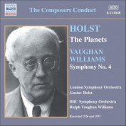 Holst: Planets (The) (Holst) / Vaughan Williams: Symphony No. 4 (Vaughan Williams) (1926, 1937) - CD