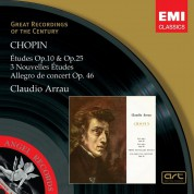 Claudio Arrau: Chopin: Etudes Op.10 And Op. 25 (1-27) - CD