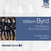 Pro Arte Singers, Paul Hillier: William Byrd: The Three Masses - CD