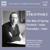 Igor Stravinsky: Stravinsky conducts Stravinsky - CD