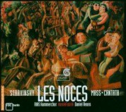 Carolyn Sampson, Jan Kobow, Maxim Mikhailov, RIAS Kammerchor: Stravinsky: Les Noces - SACD