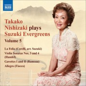 Takako Nishizaki Plays Suzuki Evergreens, Vol. 5 - CD