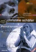 Christine Schäfer, Natascha Osterkorn, Oliver Herrmann: Christine Schäfer - Dichterliebe, A Story of Red and Blue/ Pierrot Lunaire, One Night.One Life. - DVD