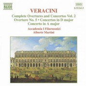 Veracini: Overtures and Concertos, Vol.  2 - CD