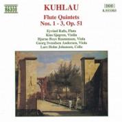 Kuhlau: Flute Quintets Op. 51, Nos. 1- 3 - CD