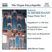 Julia Brown: Scheidemann: Organ Works, Vol. 5 (Brown) - CD