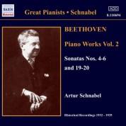 Artur Schnabel: Beethoven: Piano Sonatas No: 4, 5, 6, 19, 20 (1932-1935) - CD