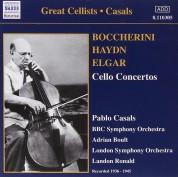 Pablo Casals, BBC Symphony Orchestra: Boccherini, Haydn, Elgar: Cello Concertos - CD