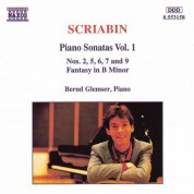Scriabin: Piano Sonatas, Vol.  1 - CD