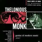 Thelonious Monk: Genius of Modern Music Vol. 1 - CD