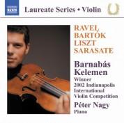 Violin Recital: Barnabas Keleman - CD