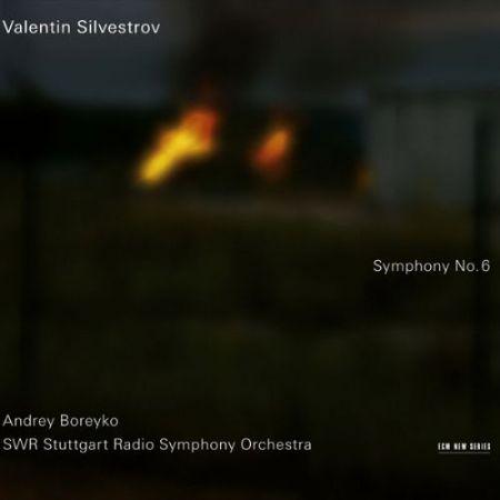 SWR Stuttgart Radio Symphony Orchestra, Andrey Boreyko: Valentin Silvestrov: Symphony No. 6 - CD
