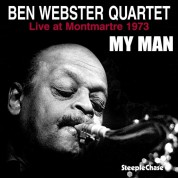 Ben Webster: My Man - Live at Montmartre 1973 - Plak