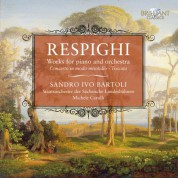 Sandro Ivo Bartoli, Staatsorchester der Sächsische Landesbühne, Michele Carulli: Respighi: Works for Piano and Orchestra - Concerto in modo misolidio, Toccata - CD